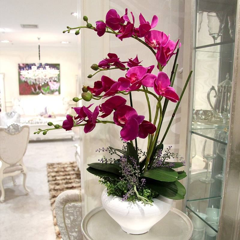 Pin by lesdy girakdi on mi jardin pinterest cheap flower euro buy quality flower candle directly from china flower marigold suppliers high artificial flower phalaenopsis set overall floral mightylinksfo