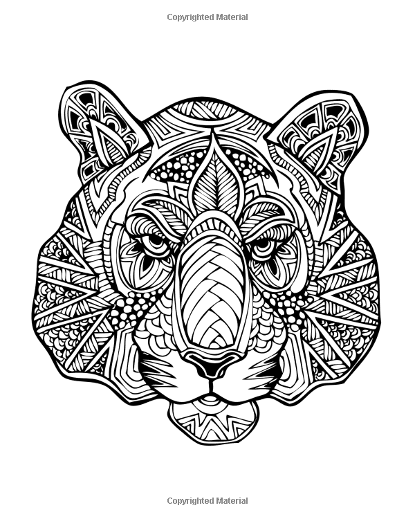 Adult Coloring Book: Animal Kingdom: Animals Out The Wazoo ...
