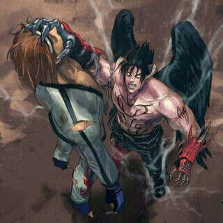 Hwoarang vs Devil Jin   Super Hero's & Villains   Jin kazama