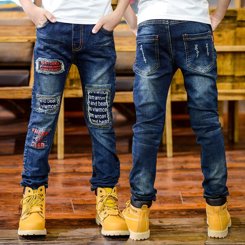 37b724fa4efa New Design high-quality 2016 Autumn Boy Fashion Denim Jeans