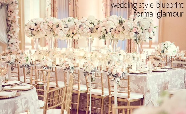 Planning A Formal Glam Wedding Is All In The Details