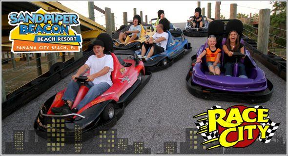 Go Karts Mini Golf More At Race City Panama Beach Attractions