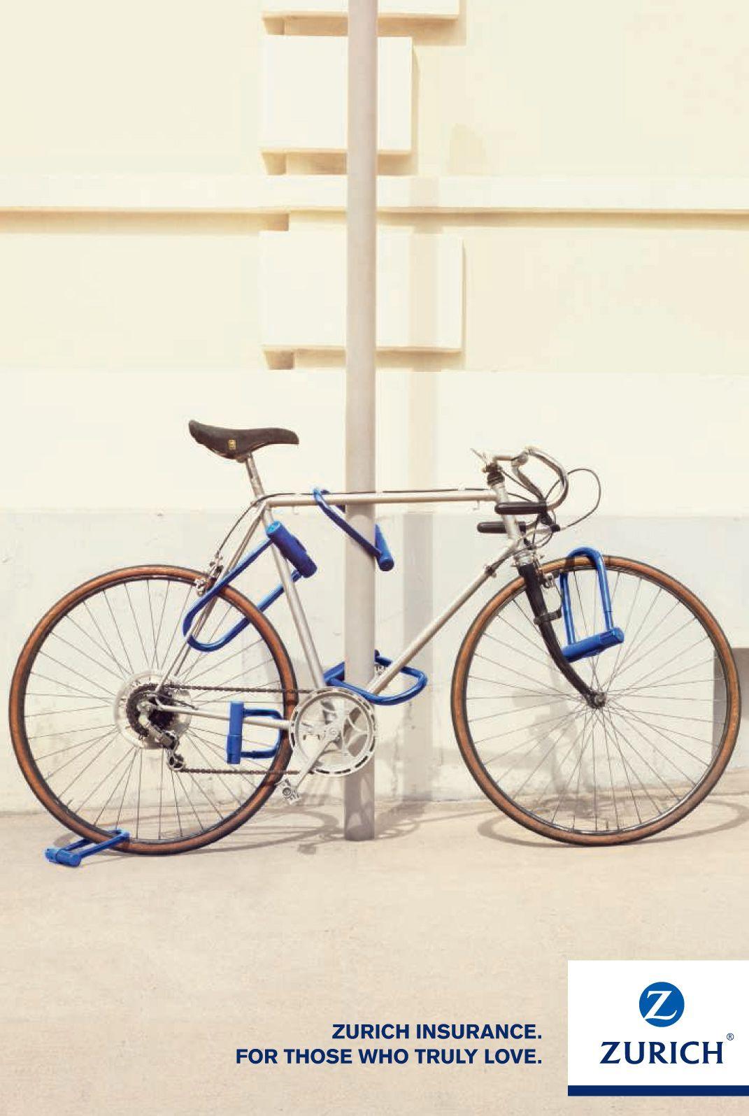 Zurich Insurance Company Bike Insurance ads, Print ads