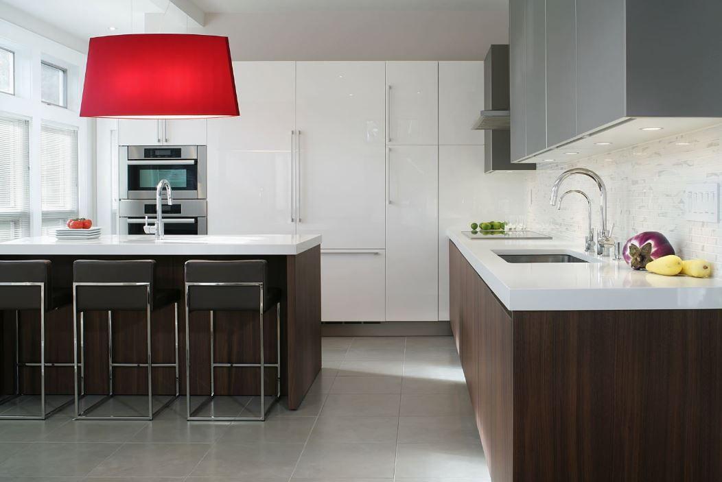 Stampe Cucina Moderna : Idee di cucine moderne con elementi in legno spazio cucina