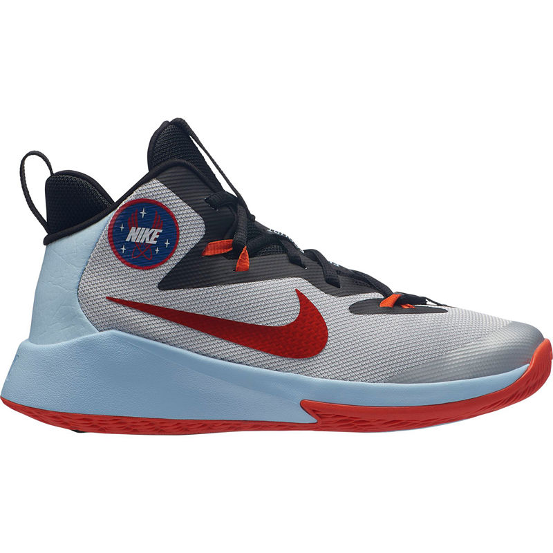 Nike Team Hustle D 8 Jdi Big Kids Boys Basketball Shoes Lace