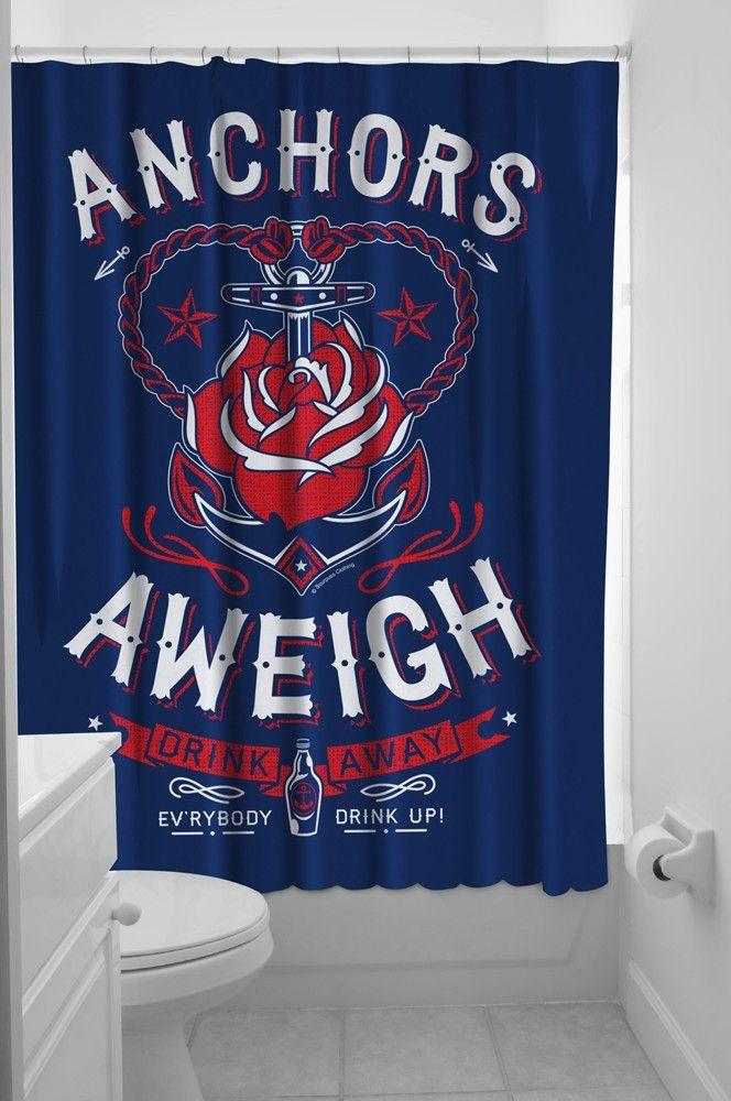 Anchors Aweigh Shower Curtain