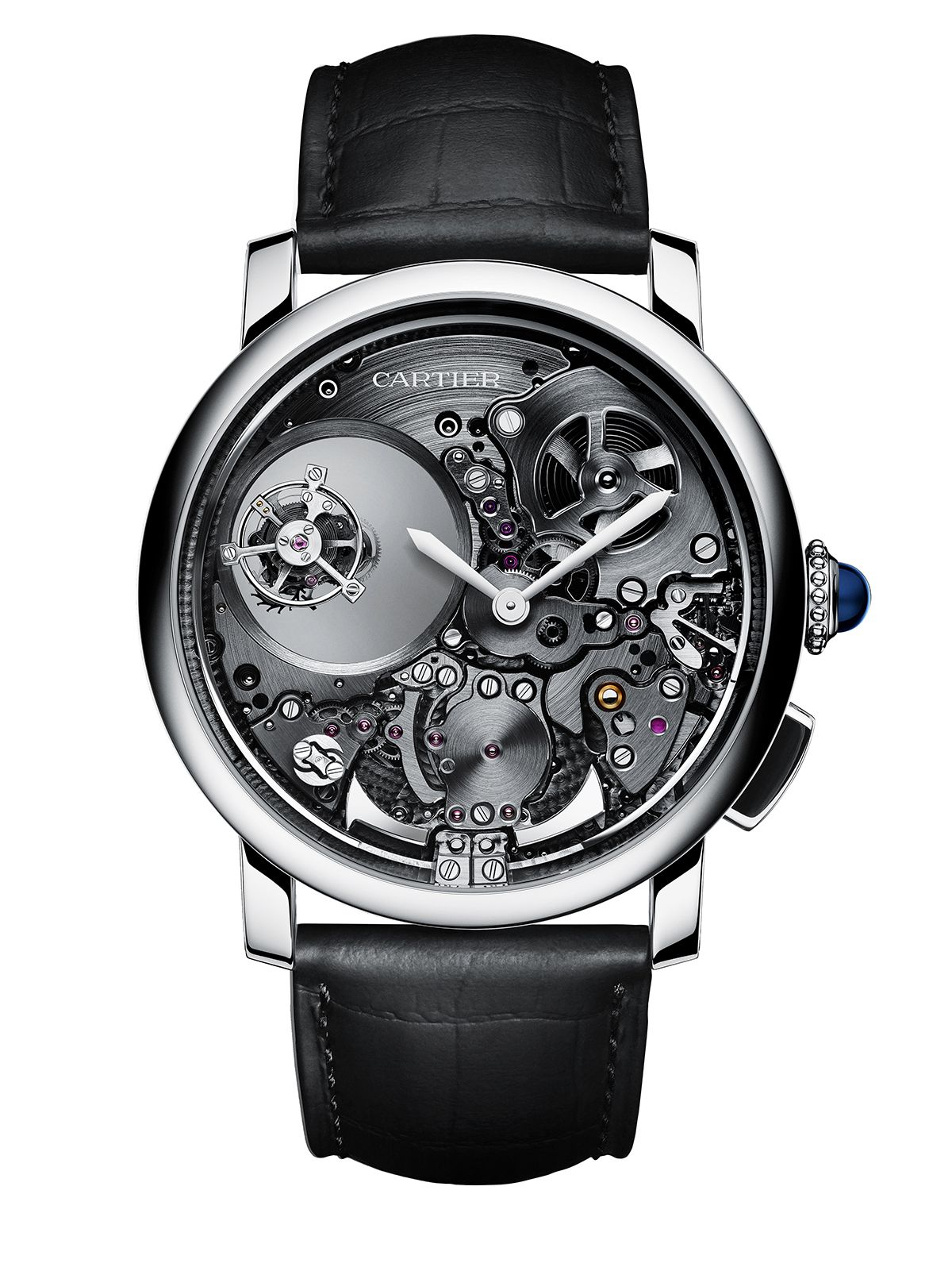 Cartier Rotonde De Cartier Minute Repeater Mysterious Double Tourbillon Watches For Men Beautiful Watches Mens Accessories