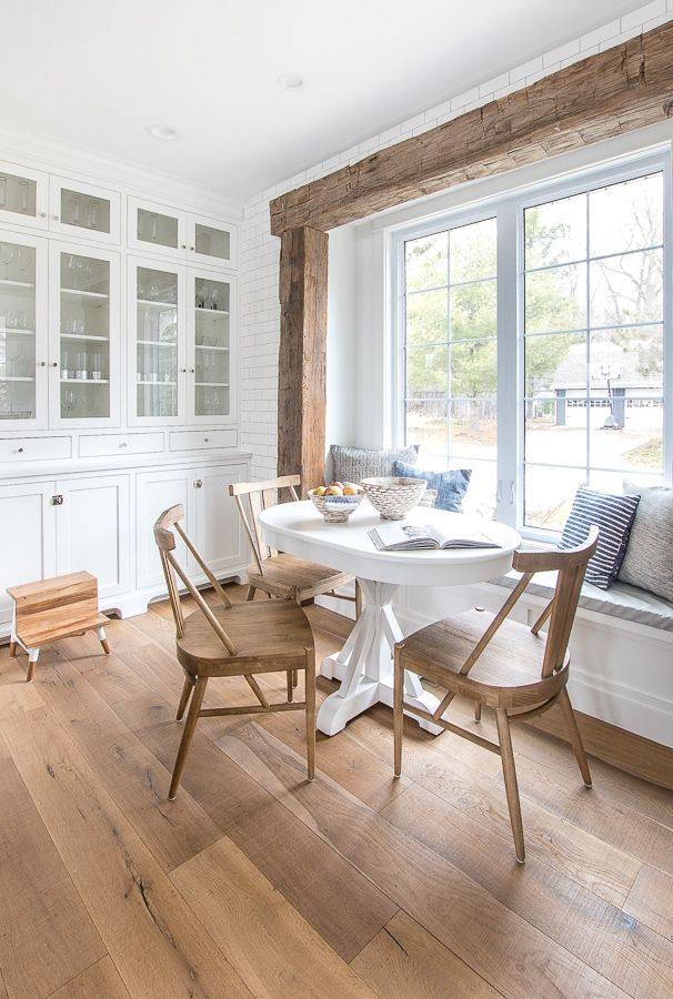 Photo of Wood Beam Breakfast Nook