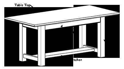 Table Diagram Custom Table Table Table Design