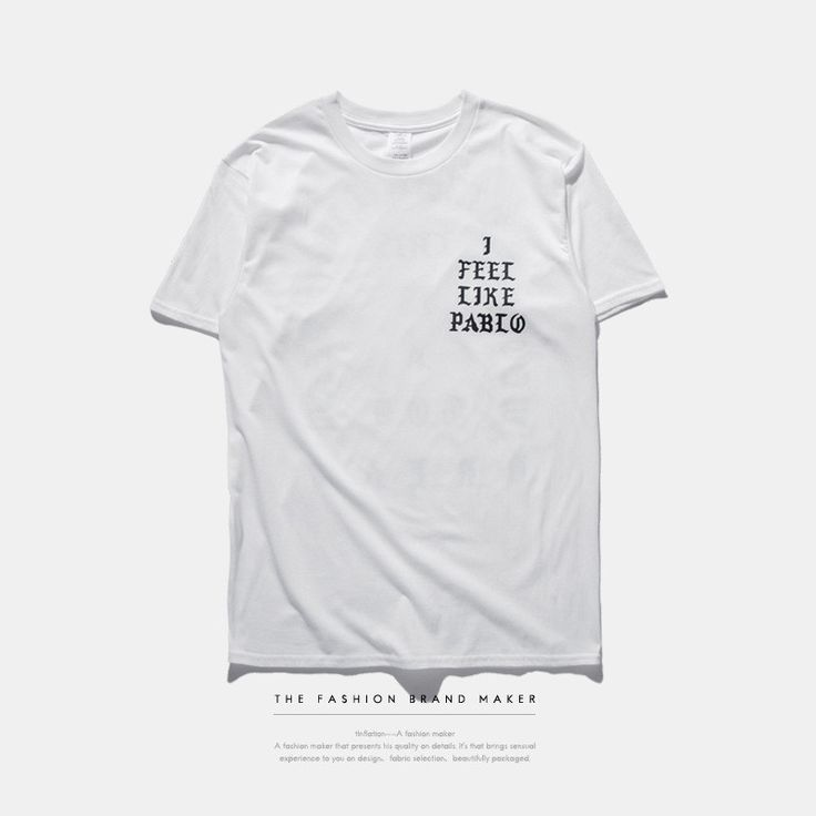 La vie de Pablo T-shirt Kanye Yeezus Tee Ball Hard Top