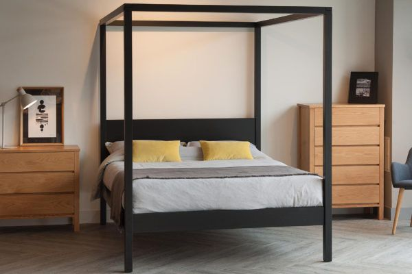 Wooden Beds Made In Sheffield Natural Bed Company Four Poster Bed Bespoke Beds White Linen Bedding