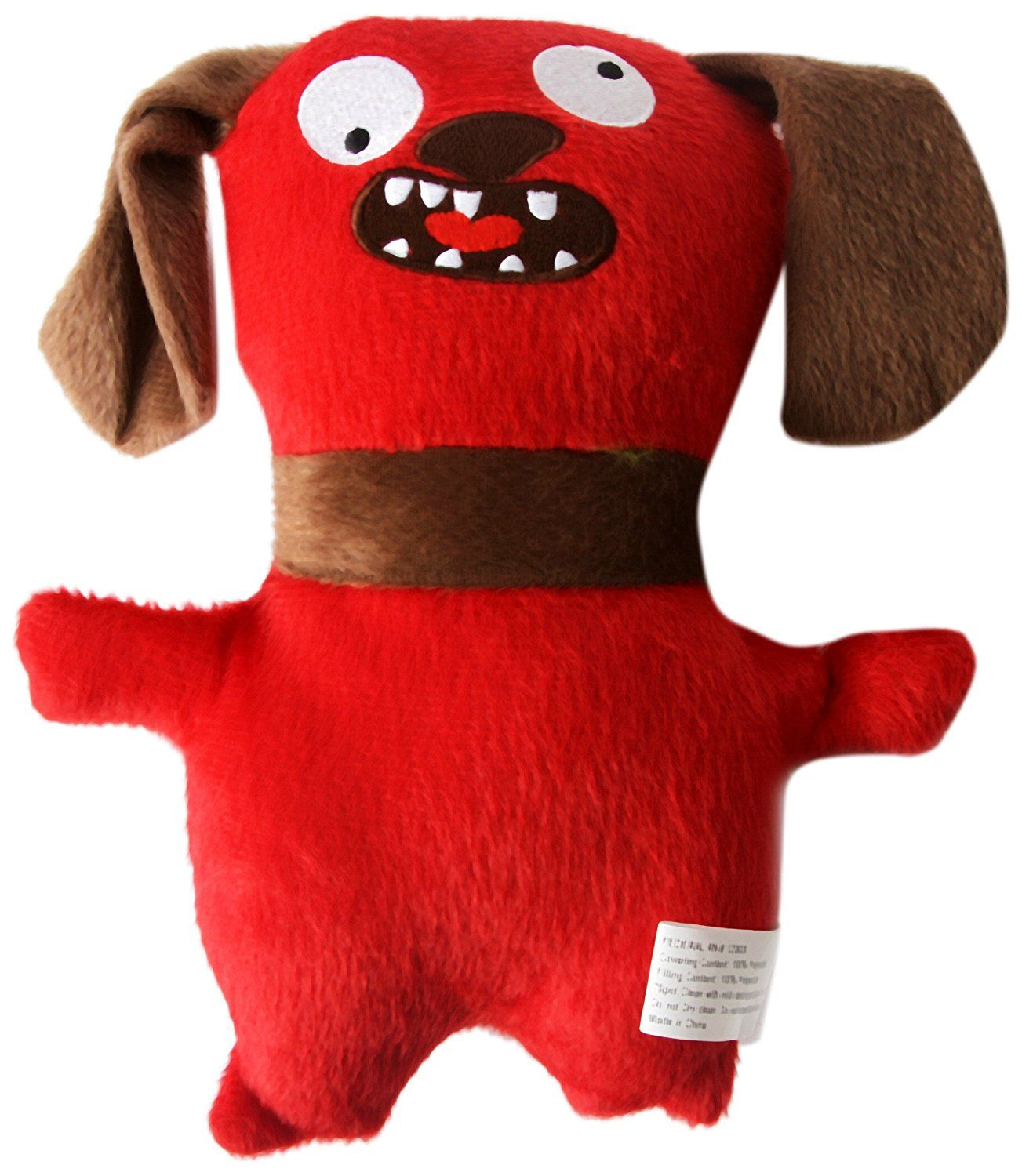 Dei Plush Ugly Dog Toy Red Read More Reviews Of The Product