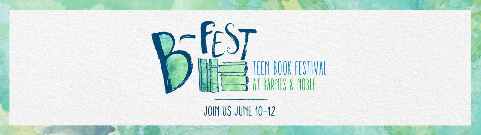 B-Fest Teen Book Festival at Barnes & Noble | All Things Books ...