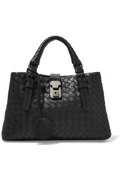 5352f0c0c75e BOTTEGA VENETA Roma Mini Intrecciato Leather Tote.  bottegaveneta  bags   shoulder bags
