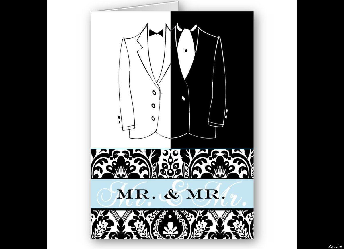 gay wedding reception invitations