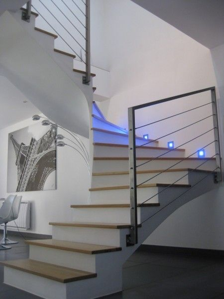 Garde Corps Escalier Metal Design Abdel Pinterest Stairs