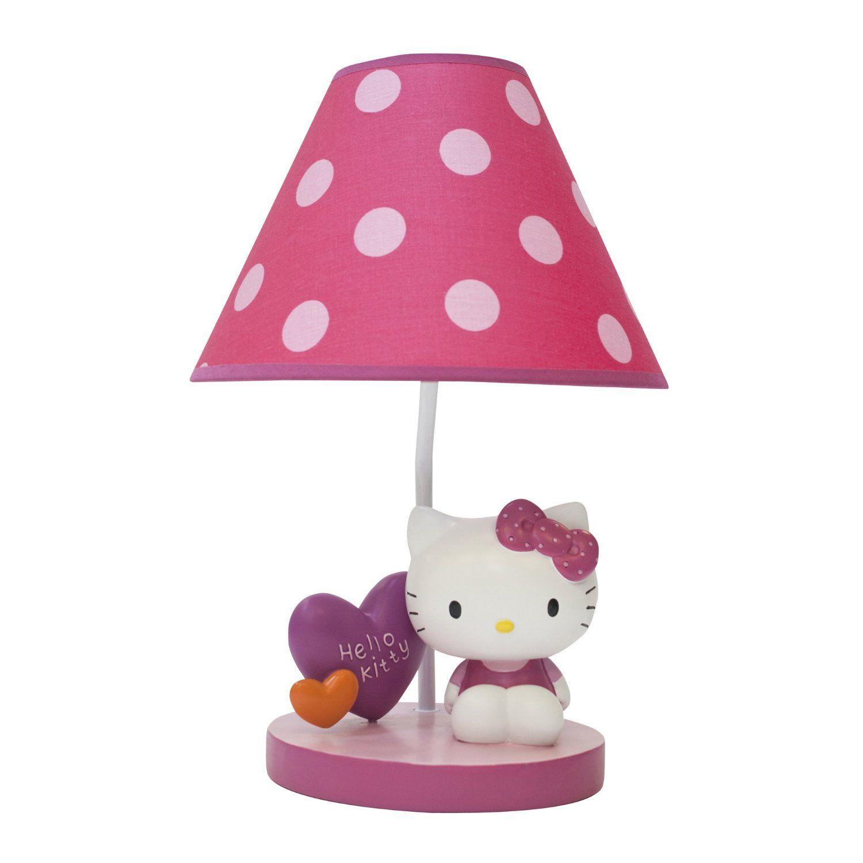 Kids Bedroom Lamp Abajur Hello Kitty Decoraassalbo Pinterest Hello Kitty And Kitty