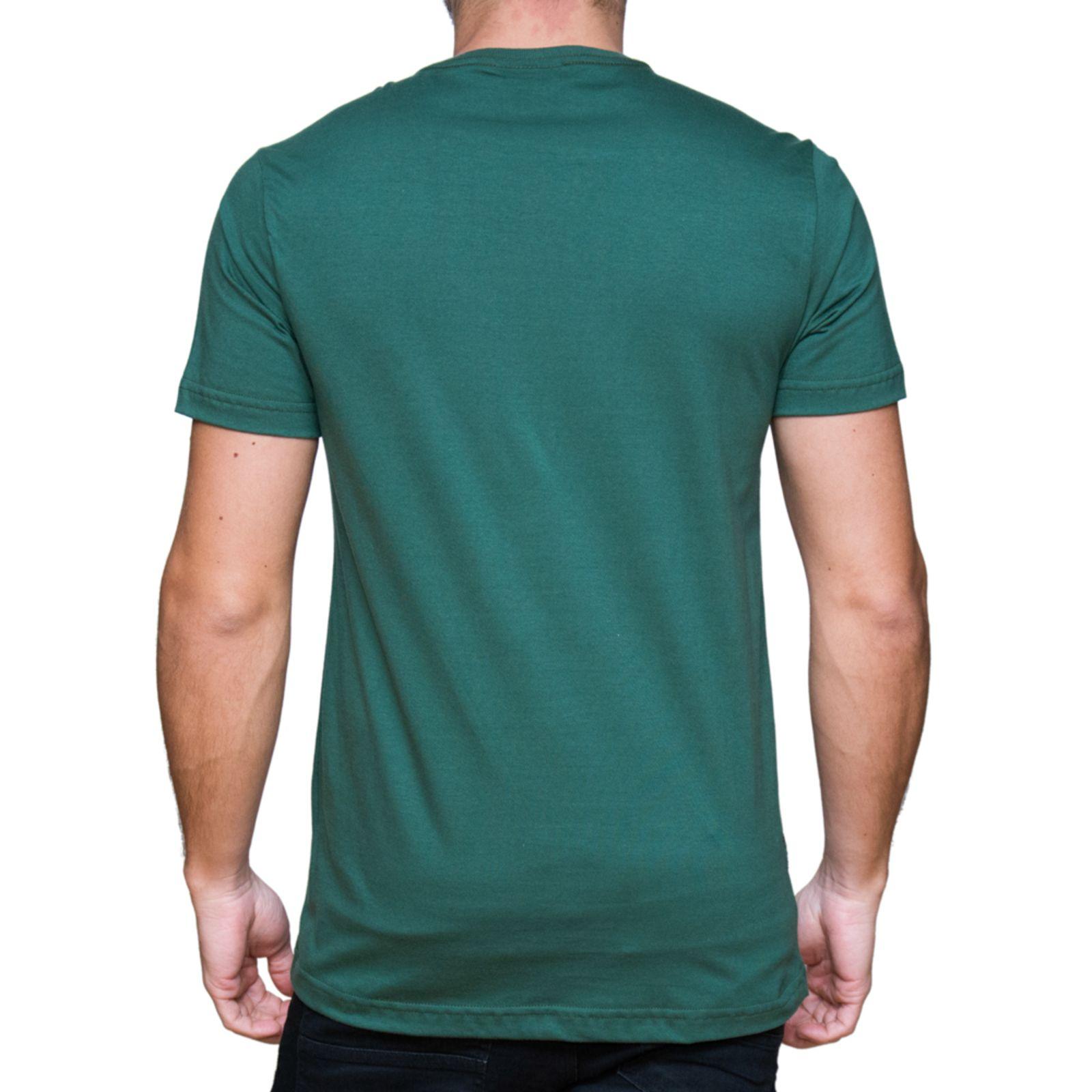 Camiseta Kevingston Login Verde Ingles de Algodao