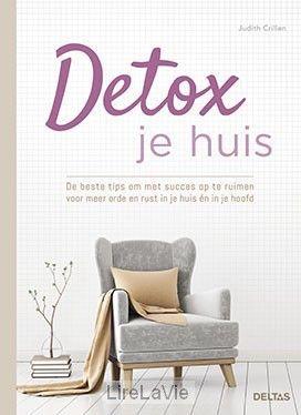Detox je huis. Judith Crillen, sinds vele jaren professioneel opruimcoach, deelt in dit boek haar beste adviezen en trucjes. Nieuw 29 april 2017