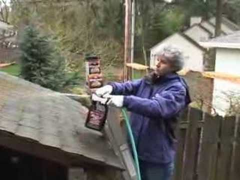 Moss Out For Roofs And Walks Roof Cleaning Stained Brick Shake Roof