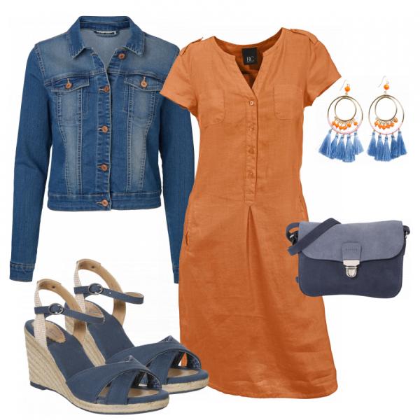 Orangina Damen Outfit - Komplettes Freizeit Outfit günstig kaufen    FrauenOutfits.de e004296be9