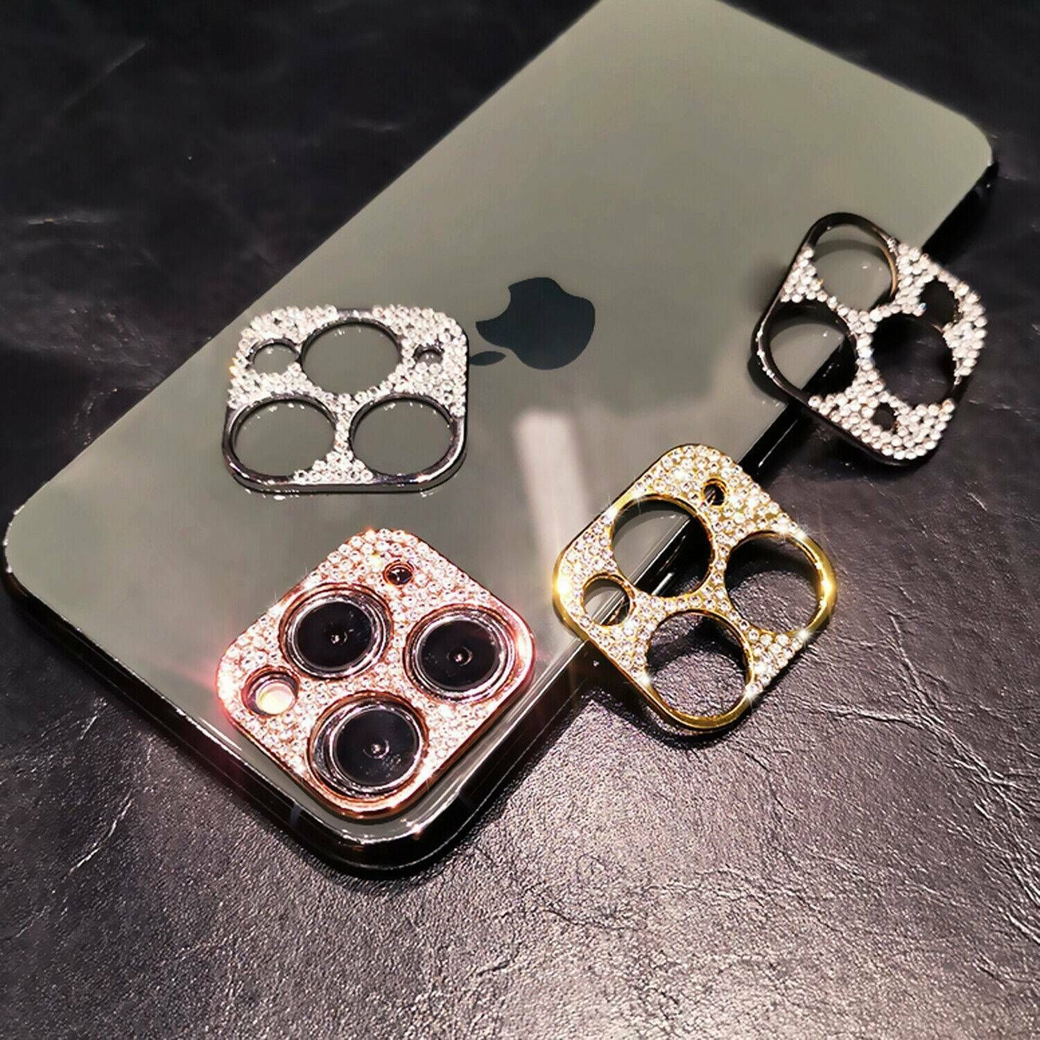 For iphone 11 pro max bling diamond camera lens protector