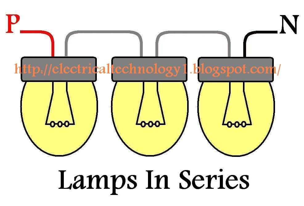 How To Wire Lights in Series? | Basic electrical wiring ... Wiring Are Connected on