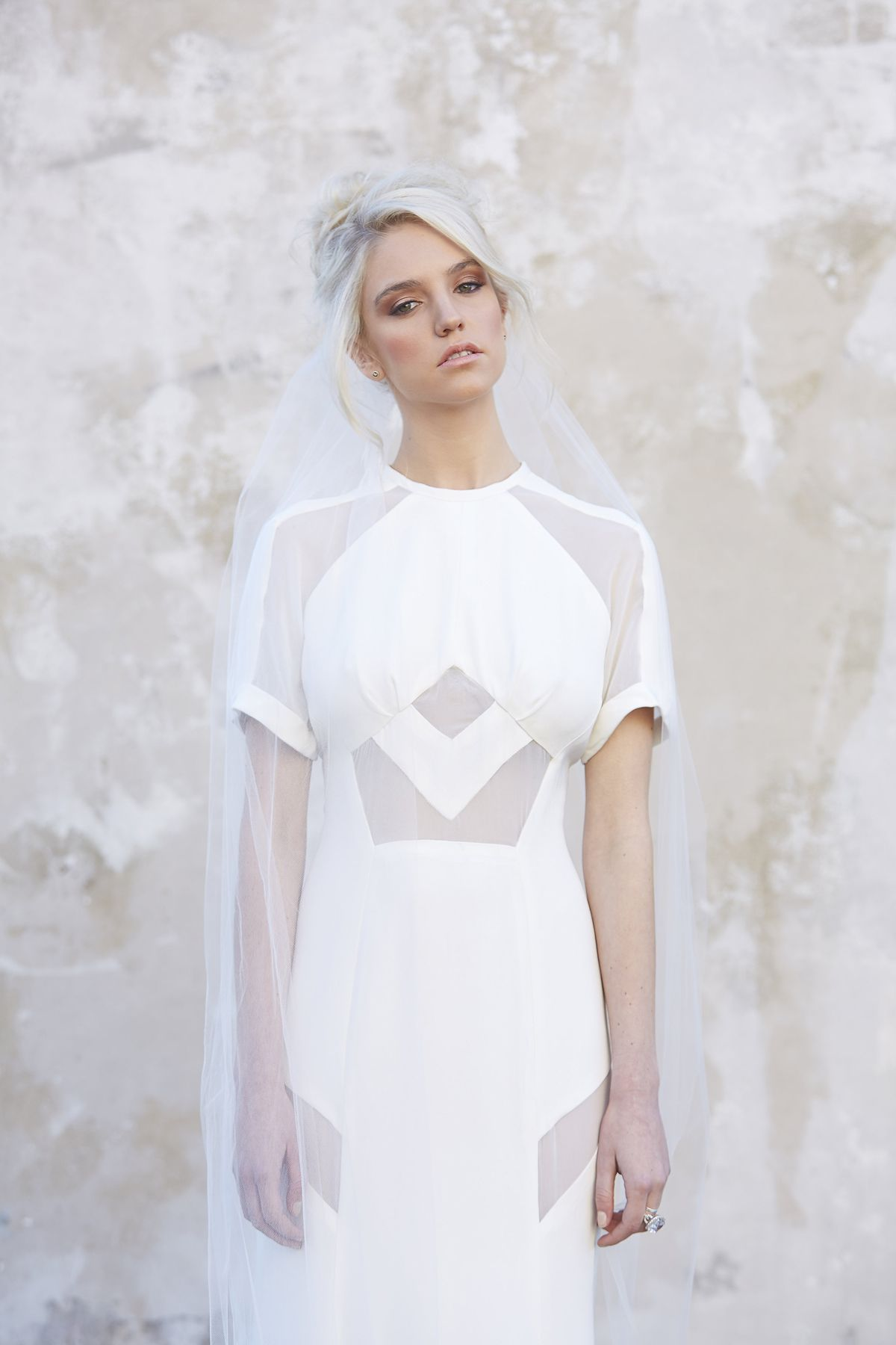 Geometric wedding dress by georgia young couture melbourne geometric wedding dress by georgia young couture melbourne bridal designer ombrellifo Choice Image