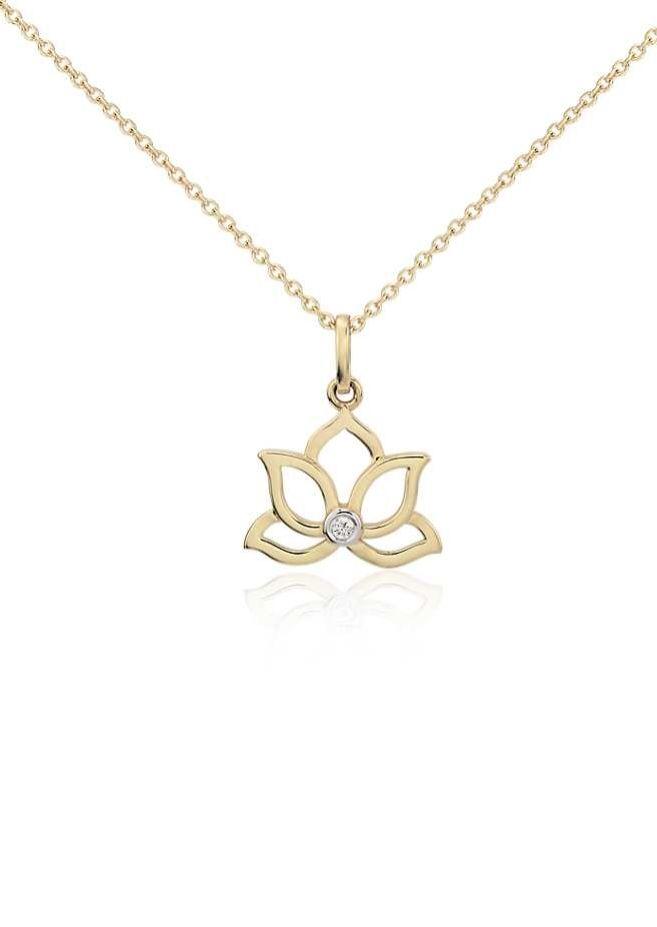Brilliant Bijou 10k White Gold Cable Chain Necklace