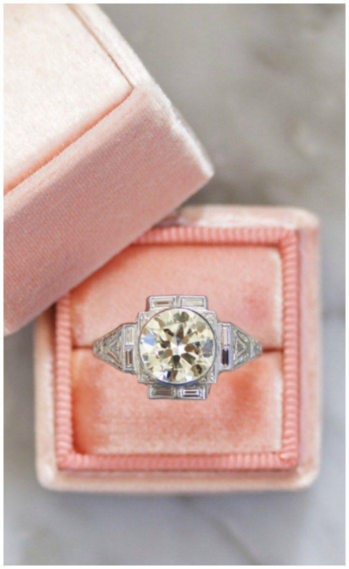 12 vintage engagement rings from Victor Barbone.   Art deco era, Art ...
