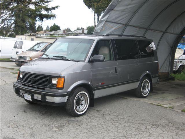 Chevrolet Vans Made Back In 1990