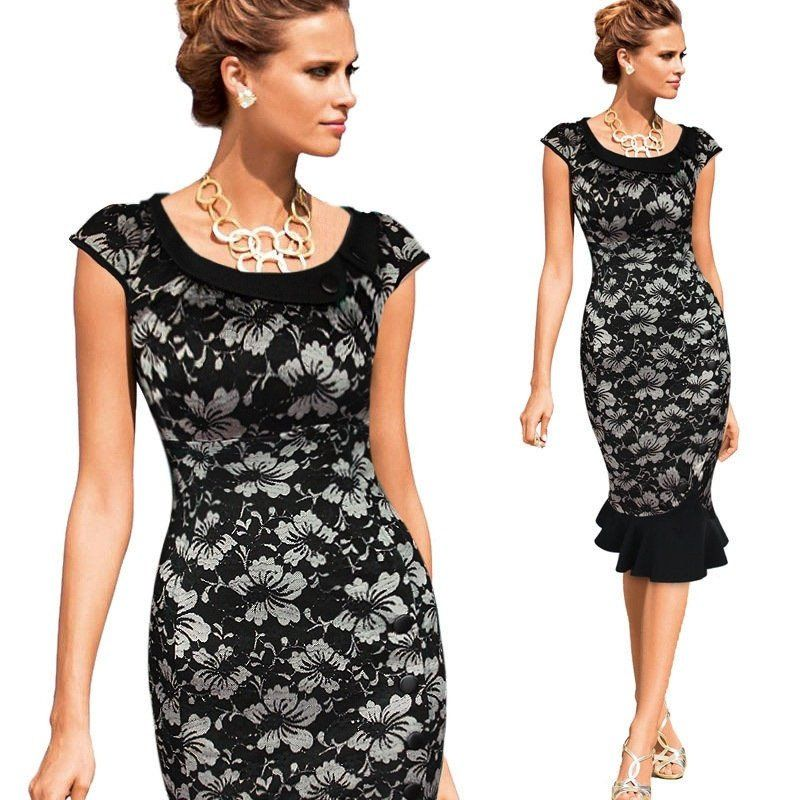 Dresses Elegant Pencil.party