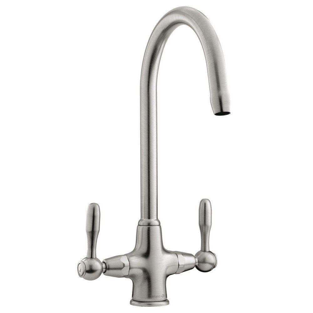 Caple Leval Brushed Nickel Kitchen Sink Mixer Tap Lev3 Bn 86