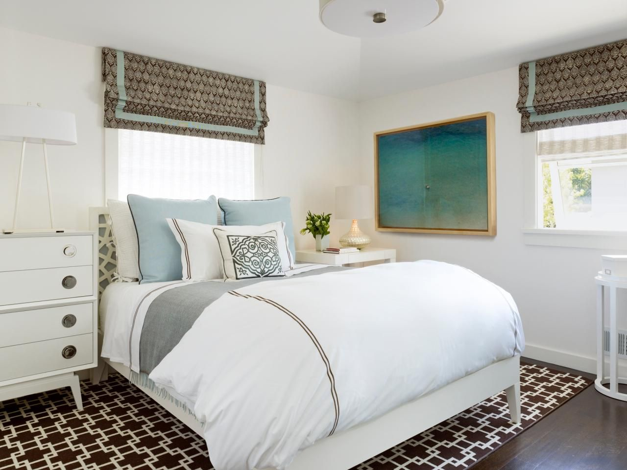 Designer Tricks for Living Large in a Small Bedroom | Bedrooms & Bedroom Decorating Ideas | HGTV