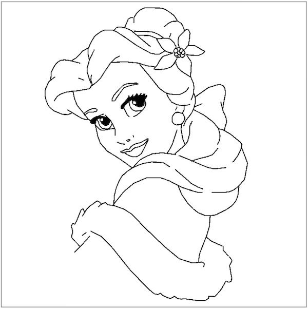 Christmas Coloring Pages Belle Coloring Pages Kids Christmas Coloring Pages Christmas Coloring Books