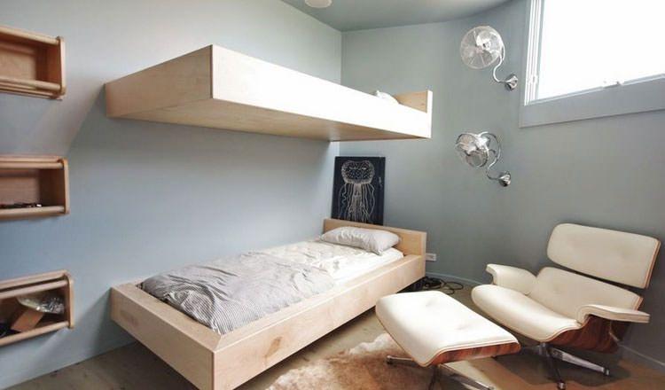 30 Esempi Di Letti Sospesi Dal Design Moderno Camere Da