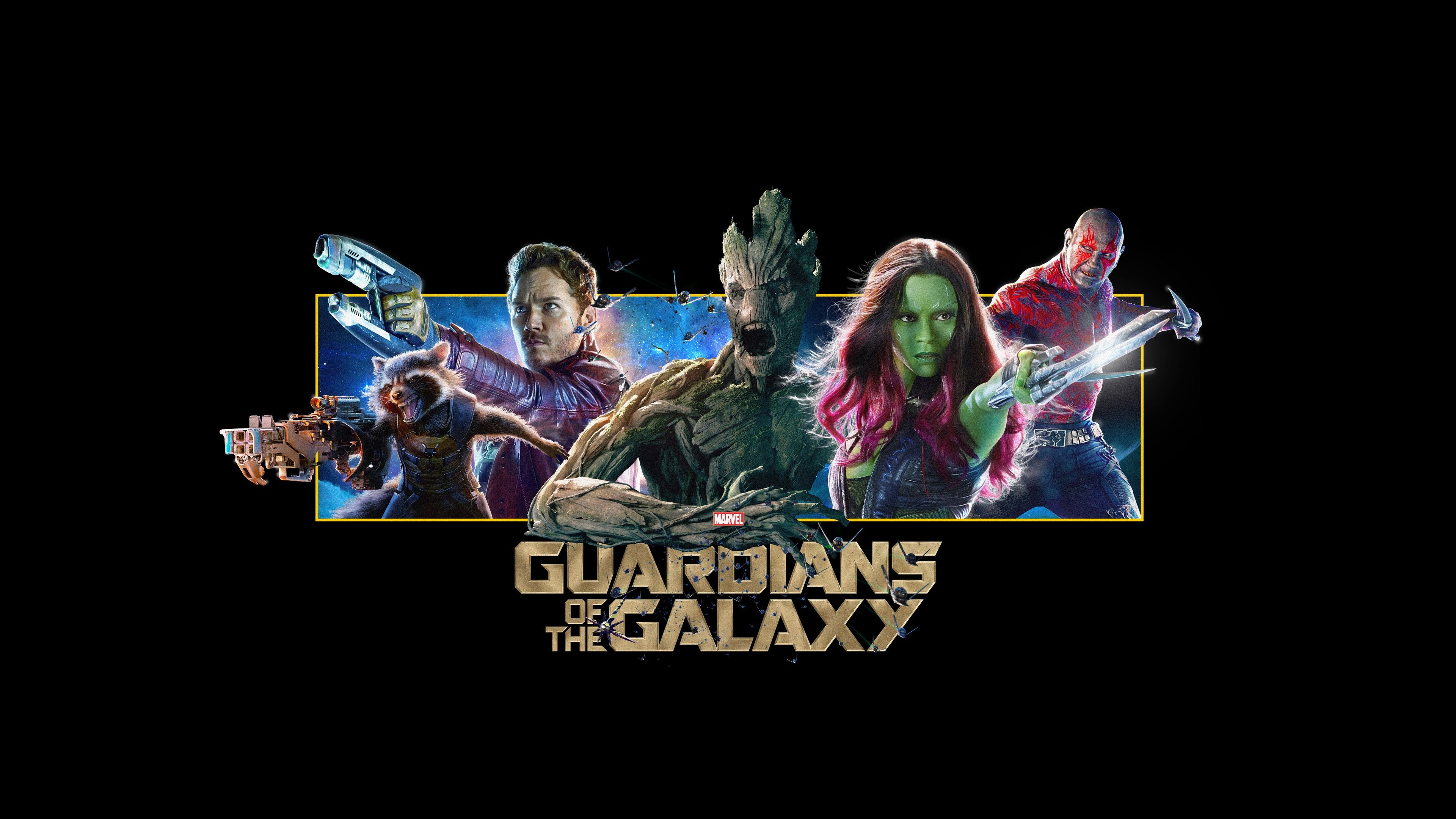 Guardians Of The Galaxy Wallpaper Desktop 296 3840x2160 Px 130 MB Cartoon Movie 1080p 1920x1080