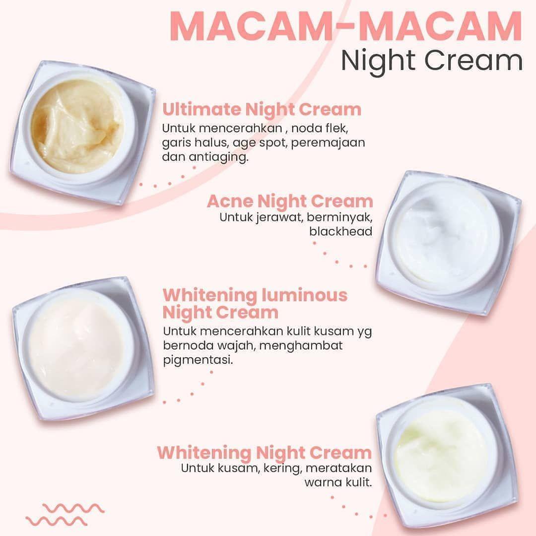 Sudah Tau Macam Macam Night Cream Ms Glow Belum Simak Yukk Macam Macam Dan Kandungan Dari Night Cream Ms Glow Ultimate Nig In 2020 Skin Care Shopping Screenshots