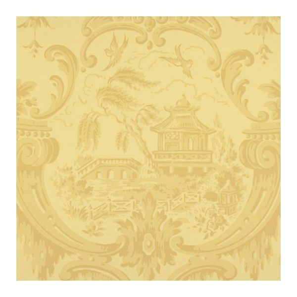 Cole & Son Wallpaper Chippendale China Wallpaper (34 KWD) ❤ liked ...
