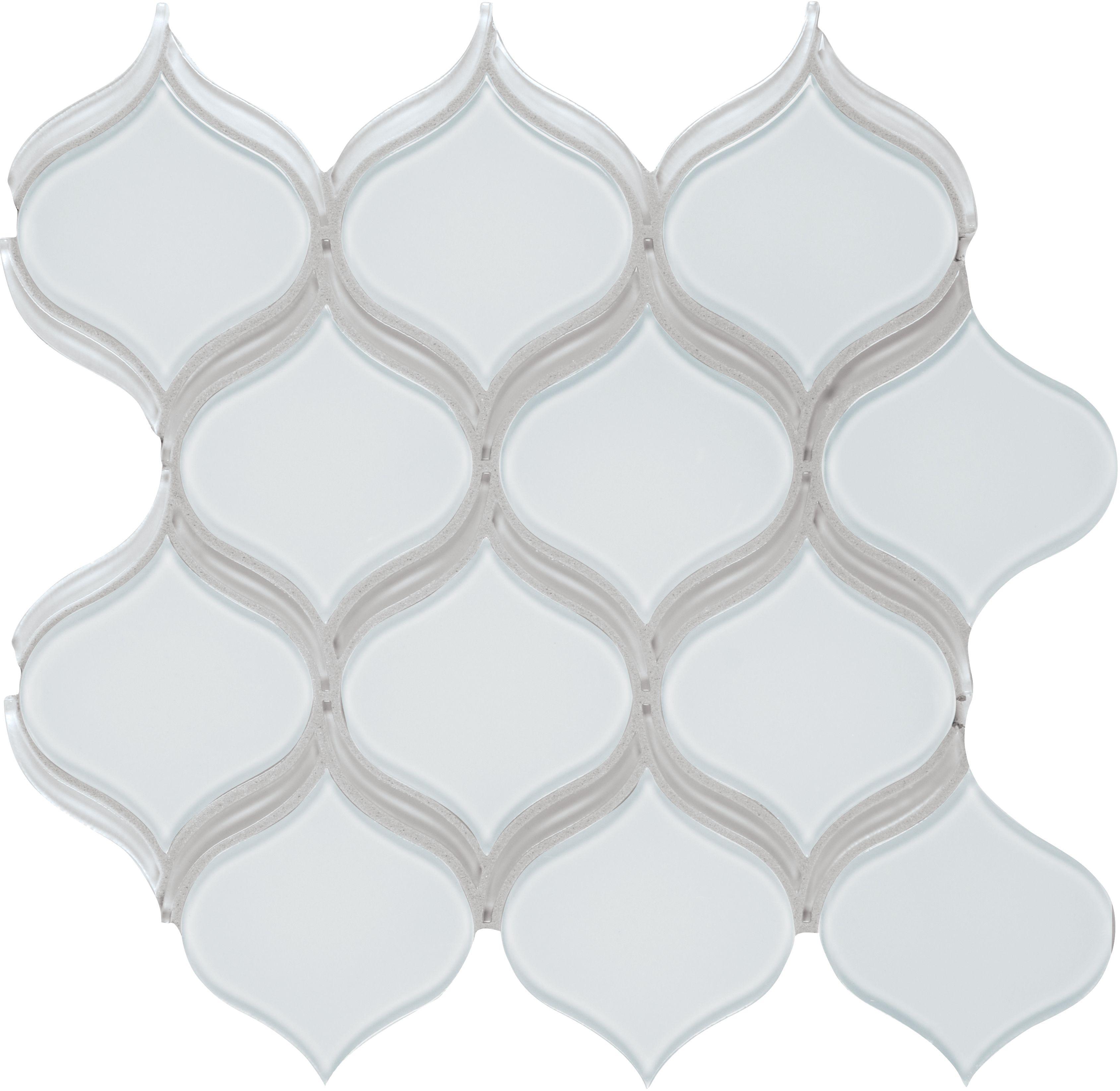 35-138 Element Ice Arabesque Glass   Bliss Glass - Element ...