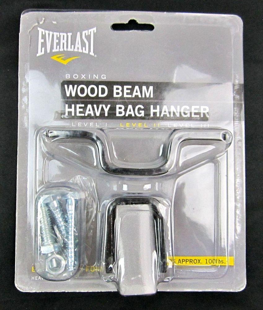 Everlast Wood Beam Heavy Bag Hanger Black