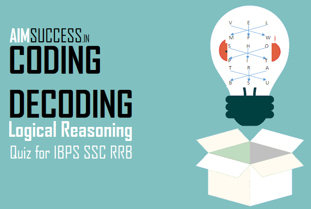 Reasoning Quiz For Banking Ibps Rbi Rrb 30 Coding Decoding Quiz Coding Banking