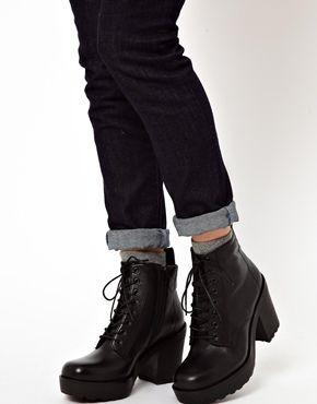 Изображение 4 из Ботильоны на платформе и шнуровке Vagabond Libby. Vagabond  Libby Platform Lace Up Ankle Boots Vagabond Shoes ... 99398113f6