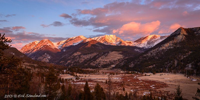 Panoramic Photos Themes Images Of Rocky Mountain National Park Rocky Mountain National Park Mountain Sunset National Parks
