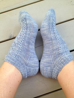 Cute Free Pattern For Ankle Socks Knitted Socks Free