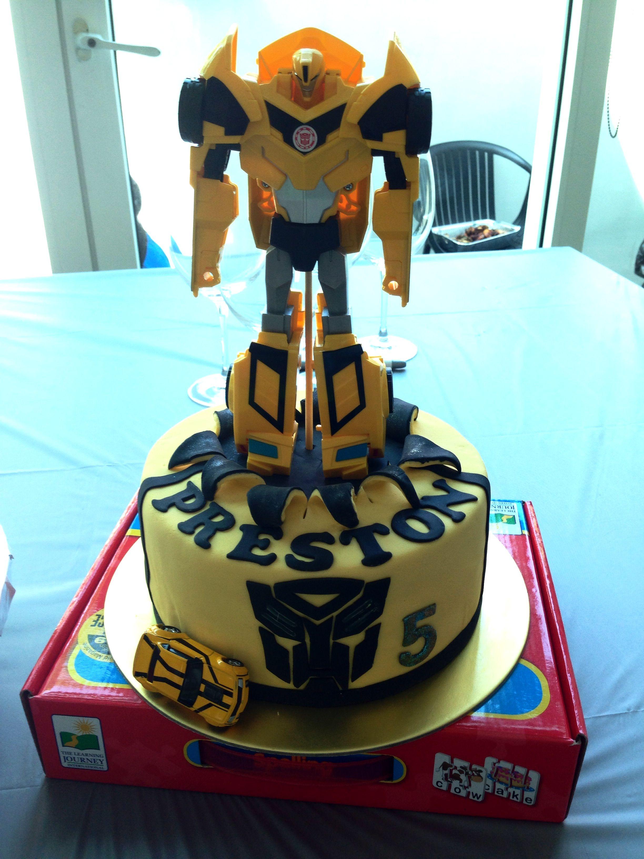 Transformer Birthday Cake Singapore Kids Birthday Cakes