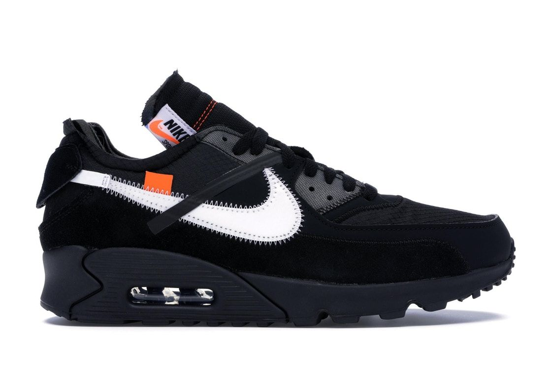 Nike Air Max 90 OFF-WHITE Black in 2020