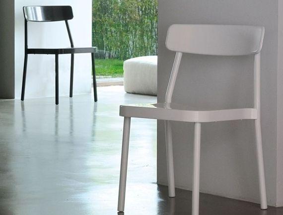 Chaises design et empilables terrasse - Sledge