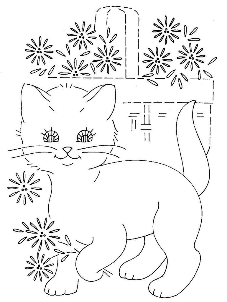 Katzen Schablone