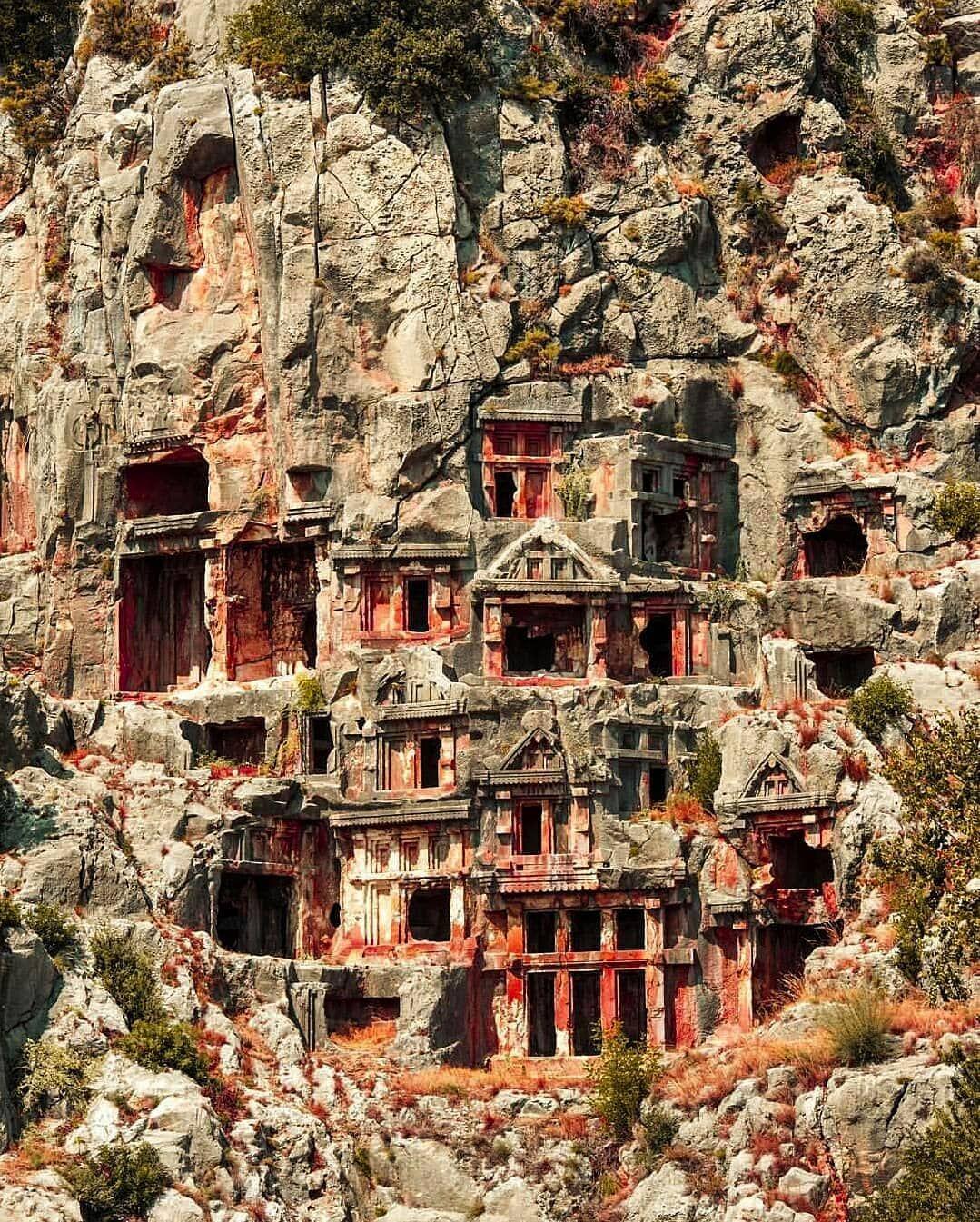 The Necropolis Of Myra, Demre Turkey (With Images